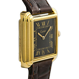 Cartier Vintage Gold 28mm Women Watch