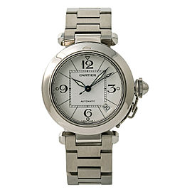 Cartier Pasha W31015M7 Steel 35mm Womens Watch