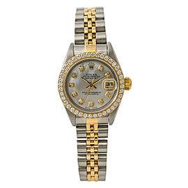Rolex Datejust 69173 Steel 26mm Womens Watch
