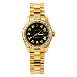 Rolex Datejust 179138 Yellow Gold 26mm Womens Watch
