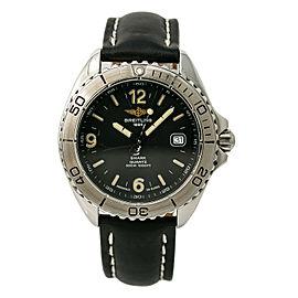 Breitling Aeromarine A58605 Steel 41mm Watch