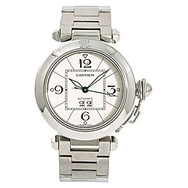 Cartier Pasha W31055M7 Steel 35mm Womens Watch