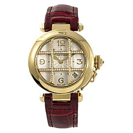 Cartier Pasha 2507 Yellow Gold 35mm Womens Watch