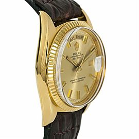 Rolex Day-date 1803 Gold 36.0mm Watch