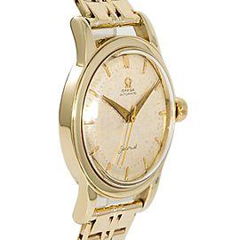 Omega Seamaster Gold 34mm Watch