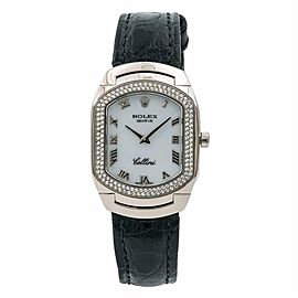 Rolex Cellini 6691 White Gold 22.0mm Womens Watch