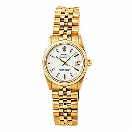 Rolex Datejust 68278 Gold 31.0mm Womens Watch