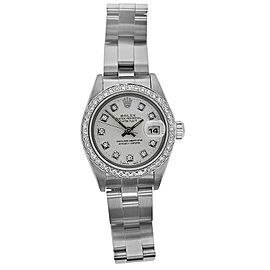 Rolex Date 69160 Steel 26mm Womens Watch