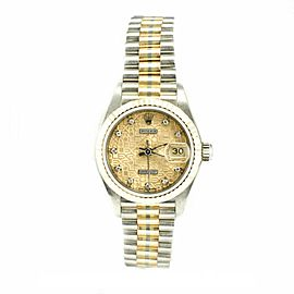 Rolex Datejust 69179 Yellow Gold 26mm Womens Watch