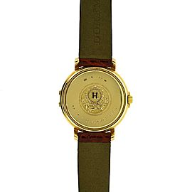 Hermes Classic Watch Yellow Gold 26mm Womens Watch