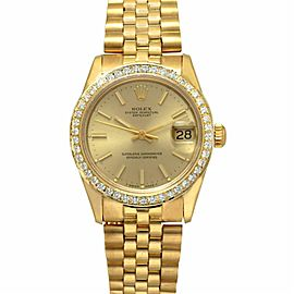 Rolex Datejust 68278 Yellow Gold 30.0mm Womens Watch