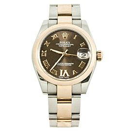 Rolex Datejust 178241 Steel 31mm Womens Watch