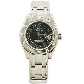 Rolex Masterpiece 80319 Gold 29mm Womens Watch