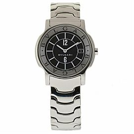 Bulgari Solotempo ST35S Steel 35.0mm Watch