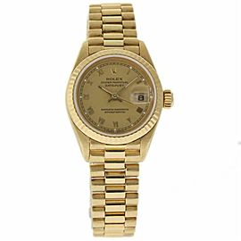 Rolex Datejust 69178 Yellow Gold 26.0mm Womens Watch