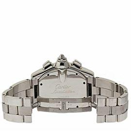Cartier Roadster W62020X6 Steel 49.0mm Watch
