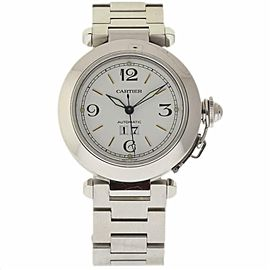 Cartier Pasha 2475 Steel 35.0mm Womens Watch