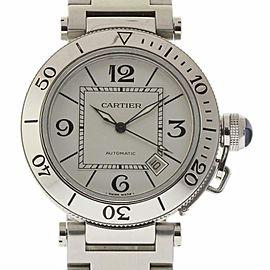 Cartier Pasha W31080M7 Steel 40.0mm Watch