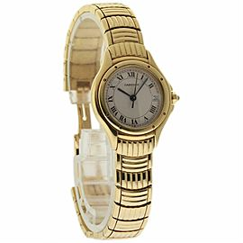 Cartier Cougar W35009F9 Yellow Gold 26.0mm Womens Watch
