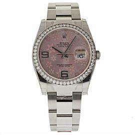 Rolex Datejust 116244 Steel 36.0mm Womens Watch