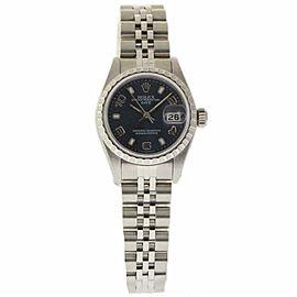 Rolex Date 79240 Steel 26.0mm Womens Watch