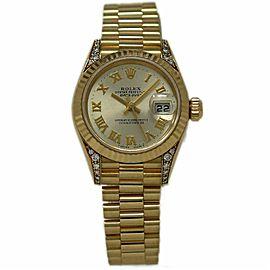 Rolex Datejust 79238 Yellow Gold 26.0mm Womens Watch