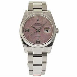 Rolex Datejust 116200 Steel 36.0mm Womens Watch