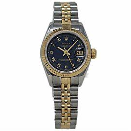 Rolex Datejust 69173 Gold 26.0mm Womens Watch