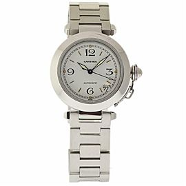 Cartier Pasha W31015M7 Steel 35.0mm Womens Watch