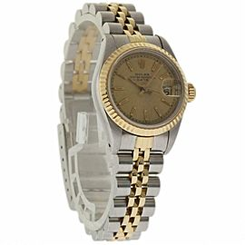 Rolex Date 69173 Steel 26.0mm Womens Watch