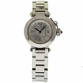 Cartier Pasha W3140007 Steel 27.0mm Womens Watch