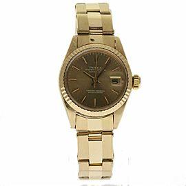Rolex Datejust 6917 Yellow Gold 26.0mm Womens Watch
