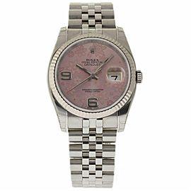 Rolex Datejust 116234 Steel 36.0mm Womens Watch