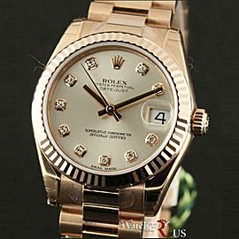 Rolex Datejust 178275 Yellow Gold 31.0mm Womens Watch