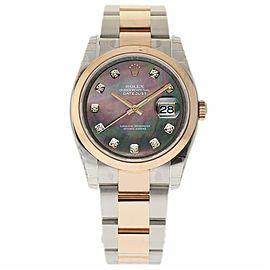 Rolex Datejust 116201 Steel 36.0mm Womens Watch