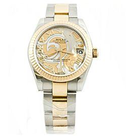 Rolex Datejust 178273 Steel 31mm Womens Watch