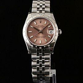 Rolex Datejust 178344 Steel 31.0mm Womens Watch