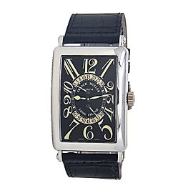 Franck Muller Long Island 18k White Gold Automatic Men's Watch 1100 DS R