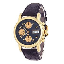 Montblanc Meisterstuck Star 18k Yellow Gold Automatic Men's Watch 7000