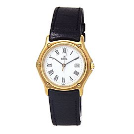 Ebel Wave 18k Yellow Gold Quartz Mid-Size Watch 883909