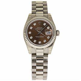 Rolex Datejust 179179 Yellow Gold 26.0mm Womens Watch