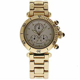 Cartier Pasha 1353/1 Yellow Gold 35.0mm Womens Watch