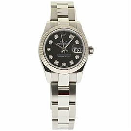 Rolex Datejust 179174 Steel 26.0mm Womens Watch