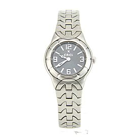 Ebel E-type 9157C11- Steel 25mm Womens Watch