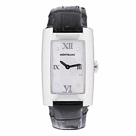 Montblanc Profile 7077 Steel 23.0mm Womens Watch