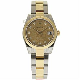 Rolex Datejust 178243 Steel 31.0mm Womens Watch