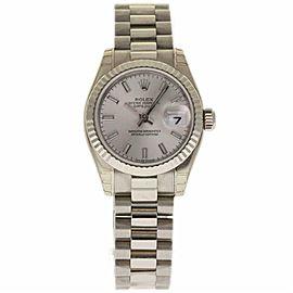 Rolex Datejust 179179 WhiteGold 26.0mm Womens Watch