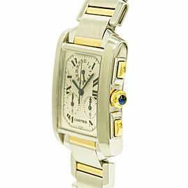 Cartier Tank Francaise 2303 Steel 28.0mm Watch