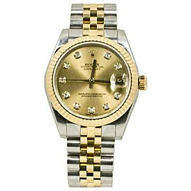 Rolex Datejust 178273 Steel 31mm Womens Watch