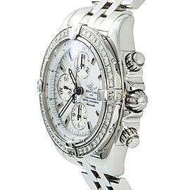 Breitling Chronomat A13356 Steel 43mm Watch